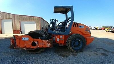 2012 Hamm 3307 Compactor Ride On Packer Vibratory Push Blade 65 in Padfoot