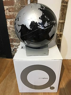 Capital Q Black and Silver Globe Designed in Denmark by Kristoffer Zeuthen