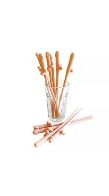 FUNNY GADGET Xmas Gift Idea Present for Her Wife Girlfriend 10 X Straw