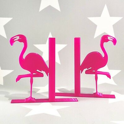 Flamingo Bookends - 3D Printed - Children's Bedroom - Gifts boys - Gifts girls
