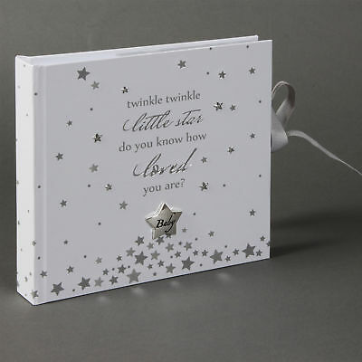 "Twinkle Twinkle Photo Album Holds 50 - 4"" x 6"" prints"