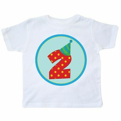 8e86af738 Inktastic 2nd Birthday Boy Toddler T-Shirt Second Number Two 2 Year Old  Kids Kid