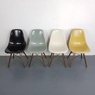 VINTAGE EAMES CHAIRS HERMAN MILLER 50s 60s MIDCENTURY SLIGHT IMPERFECTIONS #2185
