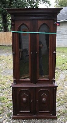 Renaissance Walnut Bookcase