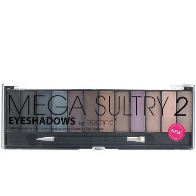 Technic Mega Sultry 2 12 Colour Eyeshadow Palette
