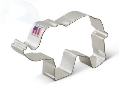 Ann Clark Elephant Cookie Cutter - 5 Inches - Tin Plated Steel