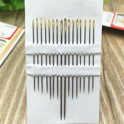 32pcs Large Eye Thick Sewing up Needle Embroidery Mending Quilt Hand DIY