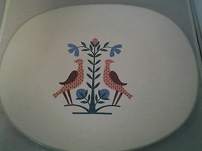 """Country Style Usa Harker Stoneware Platter 13.25"""""""
