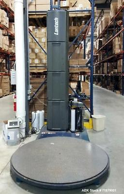 Used- Lantech Stretch Wrapper, Model Q200. S/n QM012842. included platofrm load