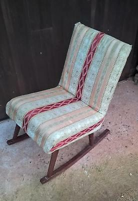Funky Vintage Retro Rocking Chair