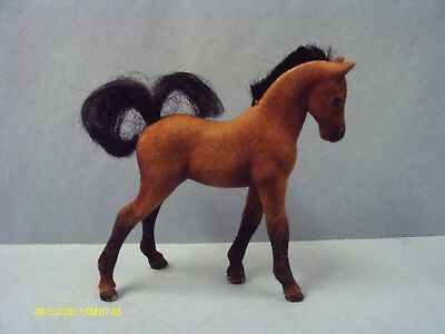 Vintage Grand Champions GC Empire Marchon Plastic Flocked Bay Foal