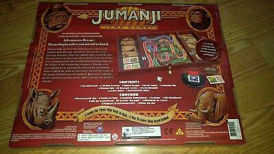 JUMANJI The Game Board Game 1995 NEW MIB FACTORY SEALED MILTON BRADLEY Excellent