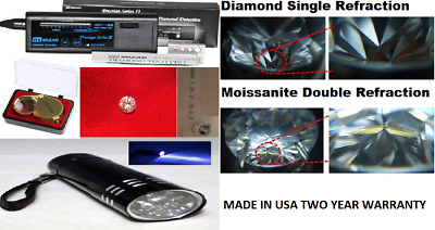 RS MIZAR Diamond Tester Prestige Series II Diamond Tech Pro Pawnbroker Kit USA