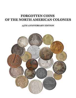 PAIR-SIGNED AMAZON SOFTBOUND Forgotten Coins of the North American Colonies + CD