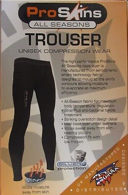Pro Skins All Seasons Base Layer Wicking Sports Motorcycle Trousers PR008 T
