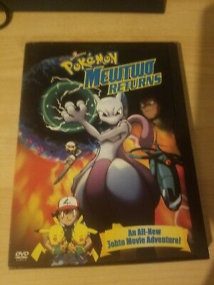 Pokemon mewtwo returns dvd