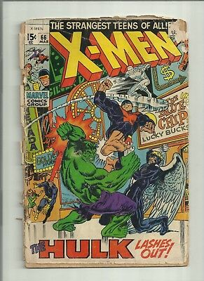 The X-Men #66 Collection Uncanny Hulk Silver Age Stan Lee Marvel Comics run fill