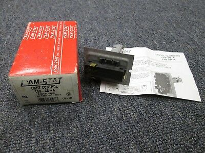 "Cam-Stat Supco L59-3B-A Limit Control 3"" (New old stock)"