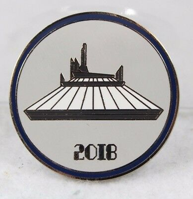 Disney Parks Pin 2018 Booster Pack Space Mountain Park Icons Attractions