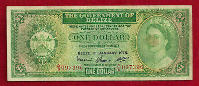 1976 Belize $1 Note, P-33c  $1.00