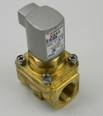 SMC Valve VXA2260-04 Pilot Operated Solenoid (NEW)