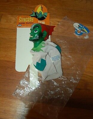 STINGRAY Gerry Anderson TITAN Hand Puppet 1965 -Lakeside Toys VERY RARE!!!