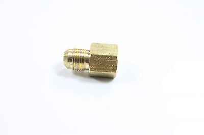 """Lot of 20 Brass Fittings 45 Degree Flare 5/8"""" OD x 1/2"""" Female NPT Connector"""