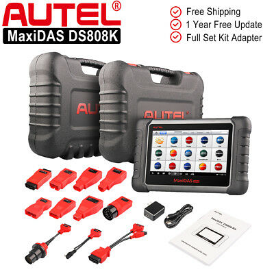 Autel MaxiDAS DS808K OBD2 Auto Diagnostic Tool All System Code Reader Scanner