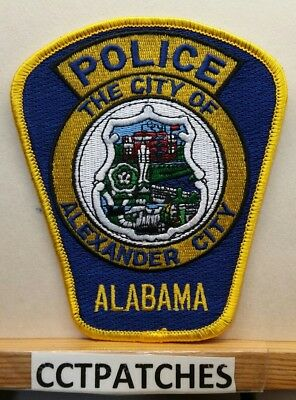 Alexander City, Alabama Police Shoulder Patch Al