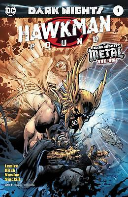 Dc Rebirth Hawkman Found 1 Lee Variant, Nm Or Better, Boxed Shipping