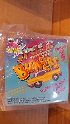 Wendy's Kids Meal Speed Bumpers 1992