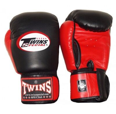 Twins Special Bgvl-3T Blk/Red 14oz Muay Thai/ Boxing Gloves