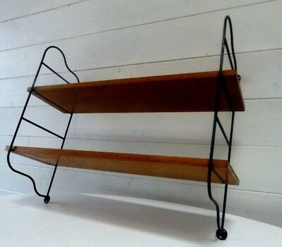 ETAGERE MURALE BIBLIOTHEQUE STYLE STRING TOMADO DESIGN SCANDINAVE MODELE 50 60 s