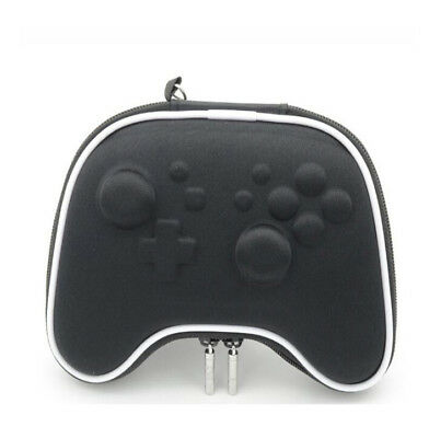 For Nintendo Switch Pro Controller Travel Protective Shell Bag Pouch Case Black