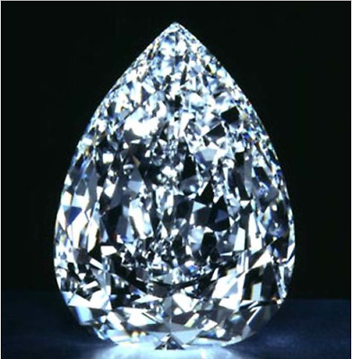 51.52CT 18x25mm White Sapphire Pear Faceted Cut AAAAA VVS LOOSE Gemstones