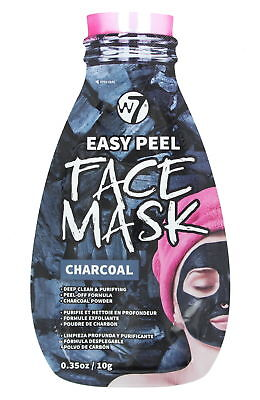W7 Easy Peel Charcoal Face Mask Deep Clean & Purifying 10g