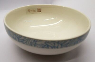 Denby  Monsoon  Lucille  Teal  Soup / Cereal Bowl