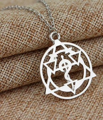 Full Metal Alchemist - Transmutation Circle Necklace