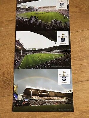 Tottenham Hotspur White Hart Lane Posters/photos x3