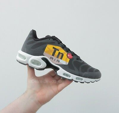 NIKE AIR MAX Plus NS GPX Big Logo Tuned 1 TN Black White Size 8 9 10 ... f702c79d0