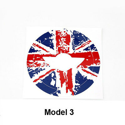 Car Steering Wheel Sticker Logo Cricle Decal Fit For Mini Cooper F55 F56 R56