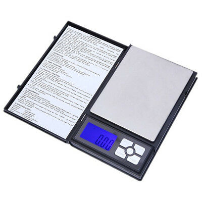 Accurate Pocket Digital Jewelry Scale Weight 500/0.01g Balance Electronic Gram