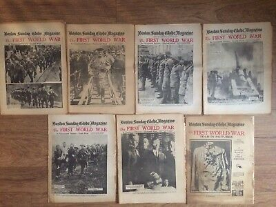 WW1 In Uncensored Pictures Newspapers 1934 2nd Week-13th Week World War 1 Boston