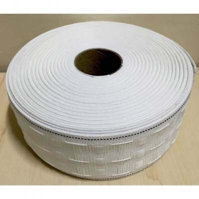 Pencil Pleat 3 inch / 75mm Curtain Header Heading Tape Pockets 1m to 50m