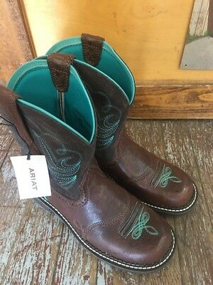 d4d34ee6abf Ariat Ladies Fatbaby Heritage Dapper Western Boots 10016238 Sz 8 m