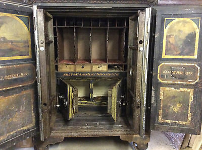 Extra Large Antique Hall Bank Safe 12,000lbs  3 Sets of Doors
