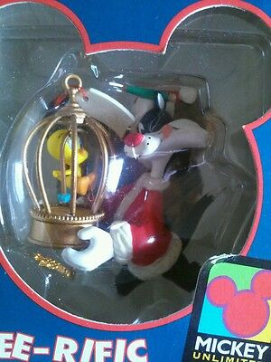 Sylvester and tweety Ornament Tree-rific Treasures Unlimited ~ Rare! Brand New!