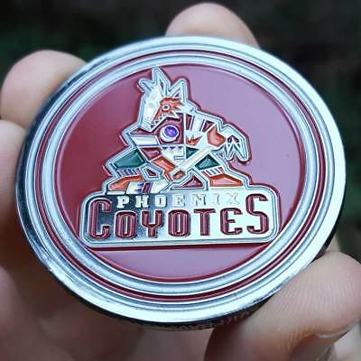 PREMIUM NHL Phoenix Arizona Coyotes Card Protector Golf Marker Collector Coin