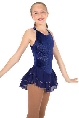 Jerry's ice shimmer figure skating dress - FREE P&P - NEW LOWER PRICE
