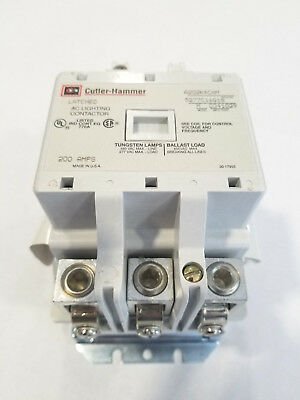 NEW Eaton Cutler-Hammer A202K4CAM Latched Lighting Contactor 200 Amp